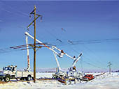 H.D. Tylle - After the Ice Storm, Michels Corp., Michels, Brownsville, Wi USA, 2007, 30 x 39 inch, oil/canvas