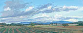 "H.D. Tylle - Bei Oppedette, Provence, France, 09/29/2013, 12 x 24 inch, oil on cardboard<br><a  style=""color:#969""  href=""mailto:info@tylle.de?subject=price inquiry: 1277  Bei Oppedette"">price inquiry</a>"