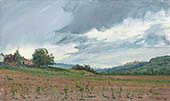 "H.D. Tylle - Les Capucins, Provence, France, 10/04/2013, 12 x 20 inch, oil on cardboard<br><a  style=""color:#969""  href=""mailto:info@tylle.de?subject=price inquiry: 1281  Les Capucins"">price inquiry</a>"