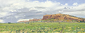 "H.D. Tylle - Gallup, New Mexico, USA, 08/12/1998, 8 x 20 inch, oil on cardboard<br><a  style=""color:#969""  href=""mailto:info@tylle.de?subject=price inquiry: 847  Gallup"">price inquiry</a>"