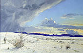 H.D. Tylle - White Sands, USA, 1999, 28 x 43 inch, oil/canvas