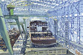 H.D. Tylle - Study for Norwegian Dawn, Meyer Shipyard, Germany, 03/25/2002, 16 x 24 inch, oil on cardboard